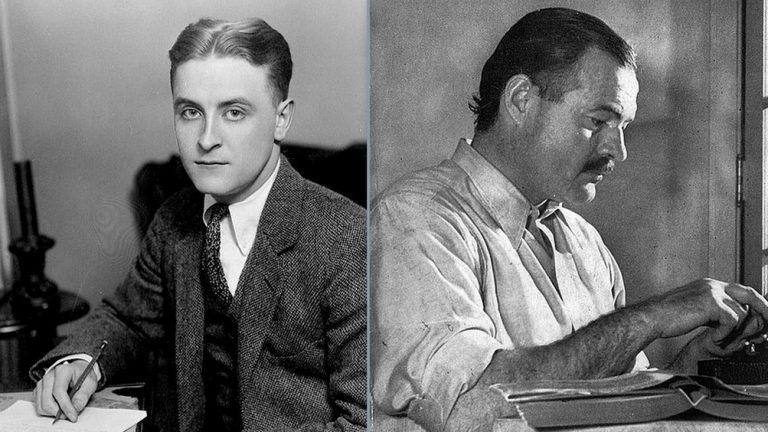 Hemingway Fitzgerald ritratto