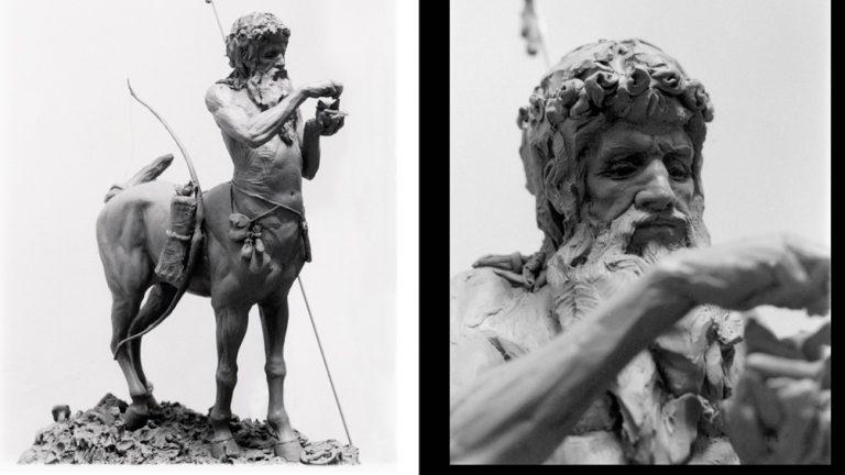 centauro statua