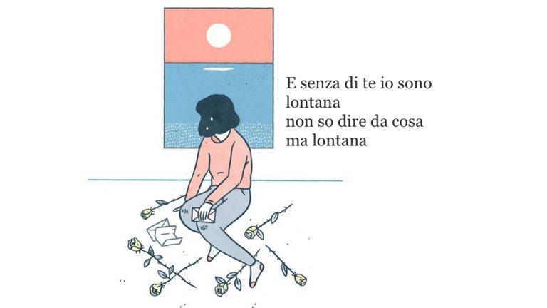frasi amore illustrazione